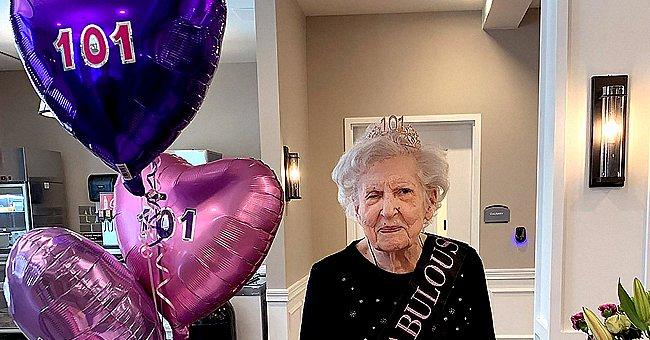 101-Year-Old WWII Veteran Marks Her Birthday by Getting the COVID-19 Vaccine