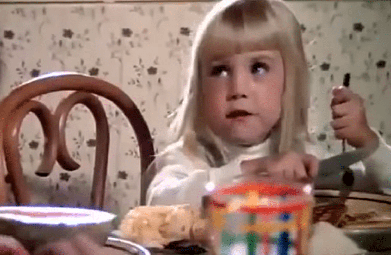 """Heather O'Rourke en """"Poltergeist"""", 1982. 