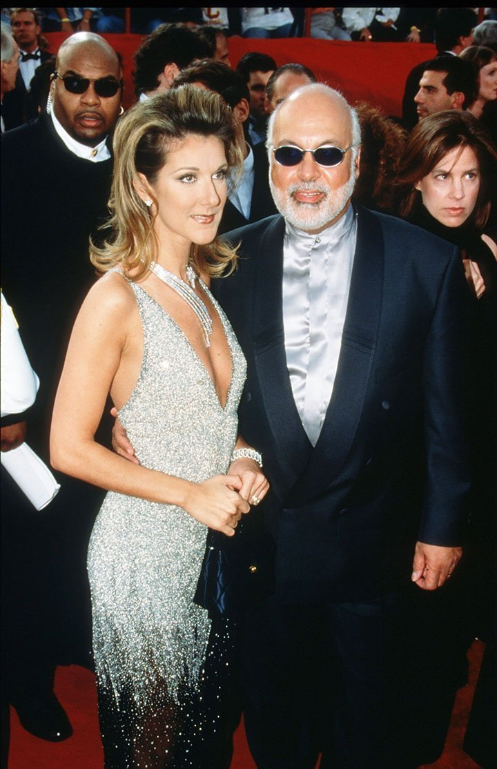 Celine Dion and her late husband Rene Angelil. I Image: Getty Images.