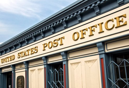 United States Post Office building. | Source: Shutterstock.