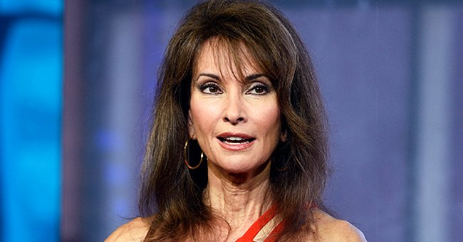 Susan Lucci Flaunts Slender Figure in a Black Swimsuit by the Beach (Photo)
