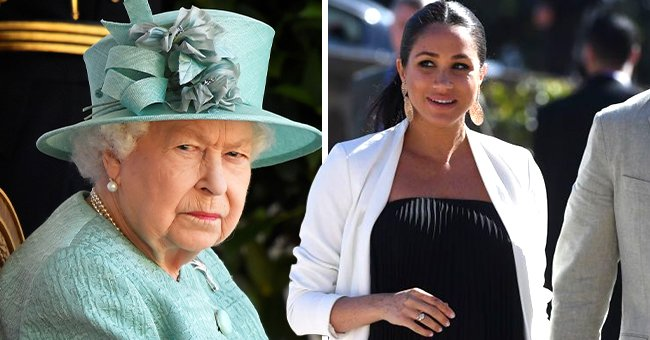 Queen Is Understanding Of Why a Pregnant Meghan Markle Cannot Attend Prince Philip's Funeral
