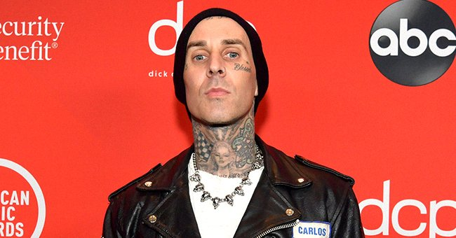 Travis Barker at the 2020 American Music Awards on November 22, 2020 in Los Angeles, California. | Photo: Getty Images