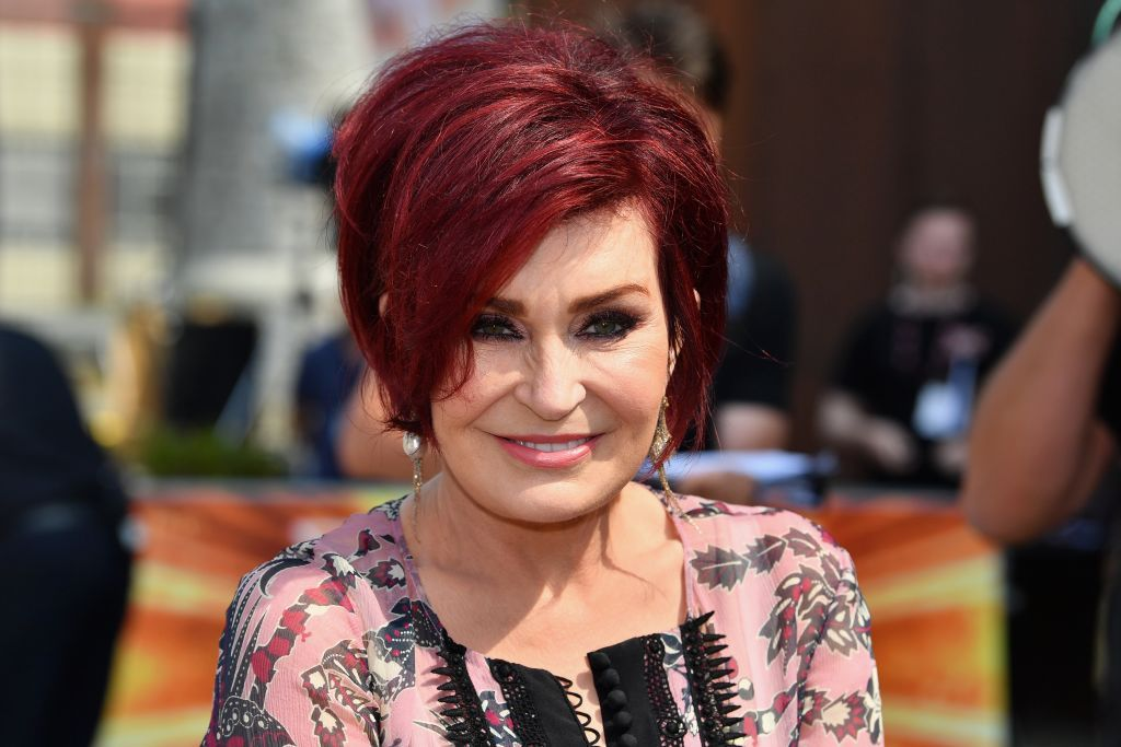"""Sharon Osbourne at the first day of auditions for """"X Factor"""" in 2017 