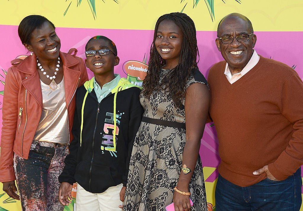 Al Roker, Deborah Roberts, Nicholas Roker, and Leila Roker on March 23, 2013 in Los Angeles, California | Source: Getty Images