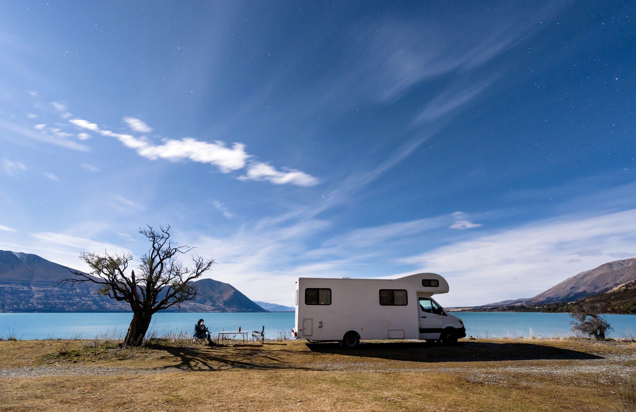 Camping unter Sternen. I Quelle: Getty Images