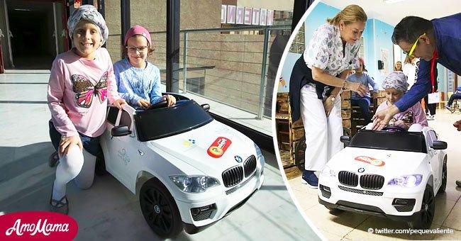 Niños con cáncer irán al quirófano en carrito de juguete en Gran Canaria