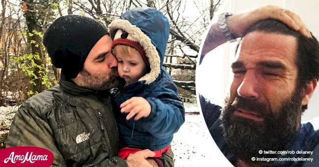 Rob Delaney paid an emotional tribute to his late son who passed away at age two-and-a-half