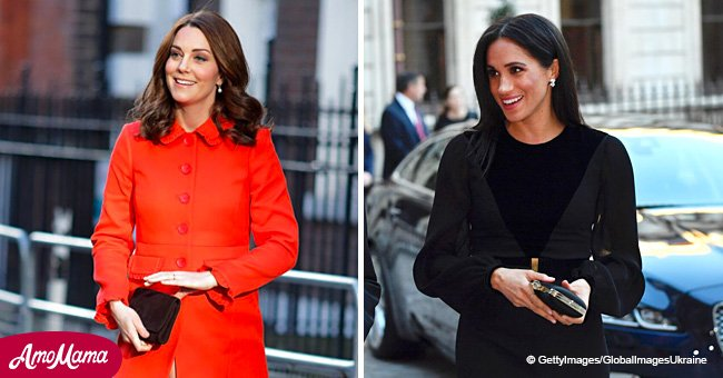 Ever wonder why Kate and Meghan always carry bags in their left hands? Here's the reason