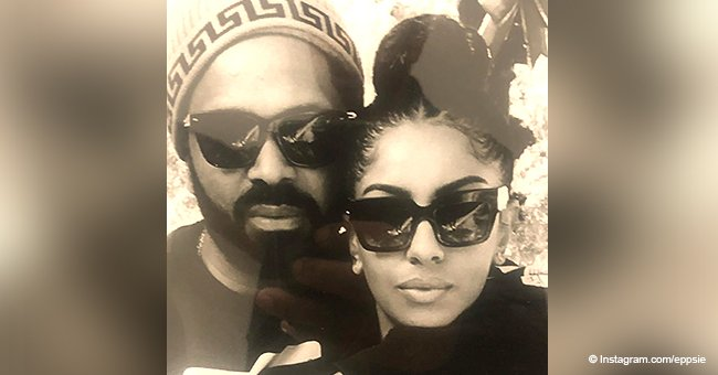 Mike Epps warms hearts as he strikes the same pose as his fiancée in photo