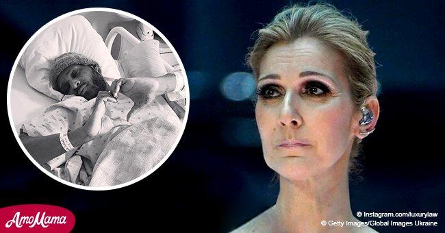 Le styliste de Céline Dion a été hospitalisé : Il donne ses nouvelles
