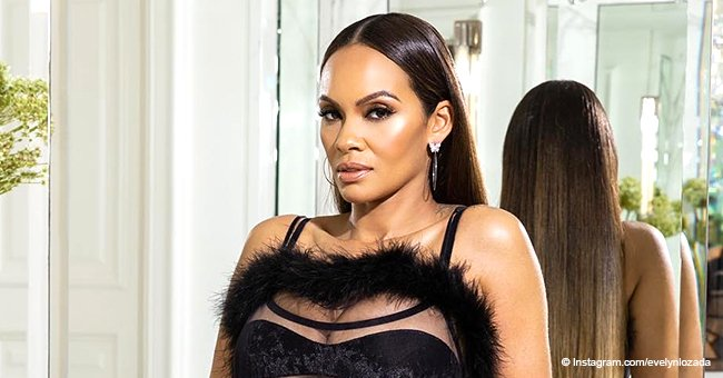 Evelyn Lozada Drops Jaws in Sheer Black Jumpsuit, Modeling Rihanna's Savage x Fenty Lingerie