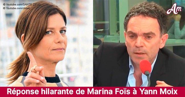 """Yann Moix révèle qu'il """"ne peut pas aimer une femme de 50 ans"""", Marina Foïs donne une réponse parfaite"""