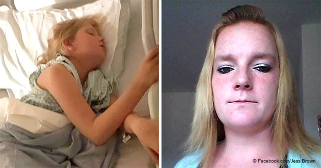 Mom shares heartbreaking photos of daughter who attempted suicide after being bullied at school