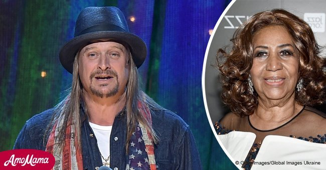 Kid Rock's touching message to 'Queen of Soul' Aretha Franklin
