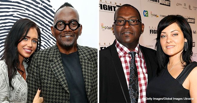 Randy Jackson shows off his apparent new girlfriend after finalizing divorce from wife of 18 years