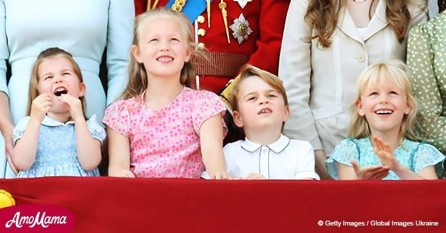 Prince George and Princess Charlotte steal the show at Trooping the Colour celebrations