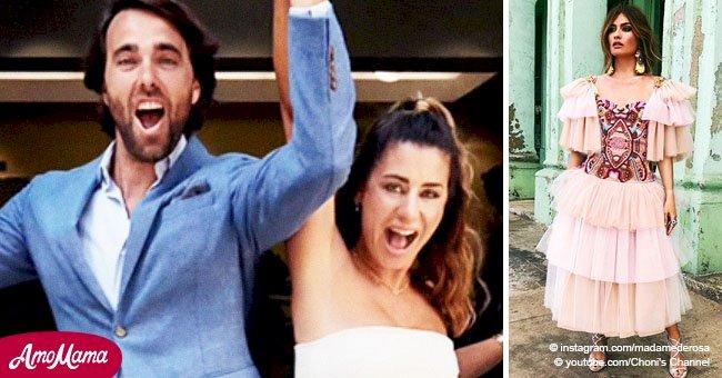 Revelan fotos de la boda de Elena Tabalda y Javier Ungria gracias a sus invitados estrellas