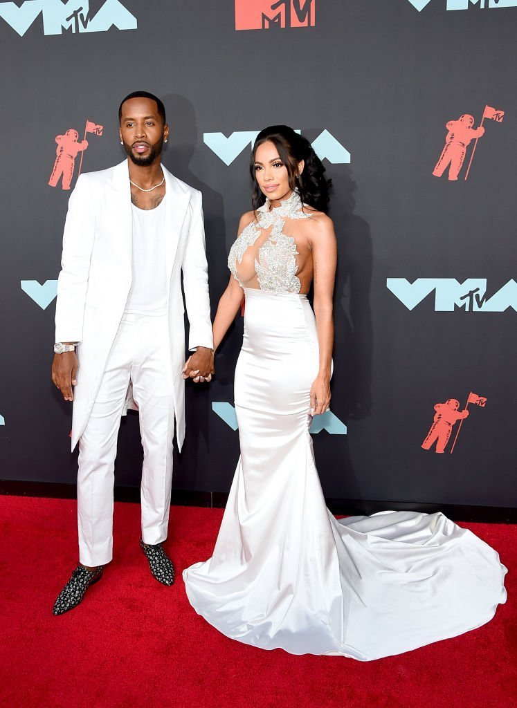 Safaree Samuels and Erica Mena Samuels attend the 2019 MTV Video Music Awards at Prudential Center | Photo: Getty Images