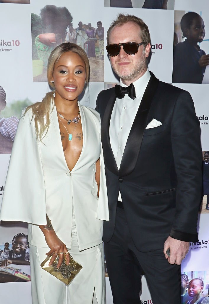 Eve and her husband Maximillion Cooper attend the Malaika10 on May 17, 2017 in New York City. | Photo: Getty Images