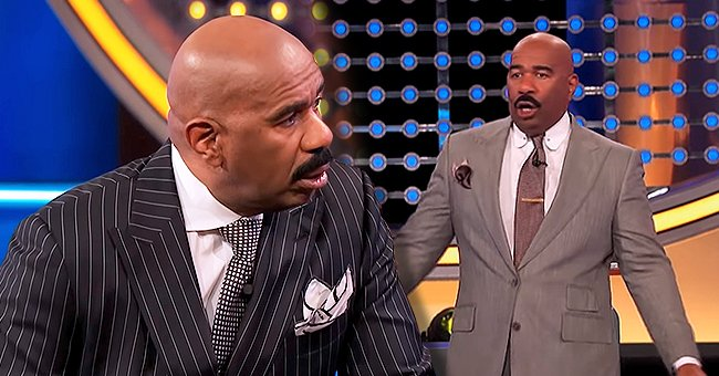 Steve Harvey Is Stunned by Absurd Answers from 'Family Feud' Contestants in a New Hilarious Video