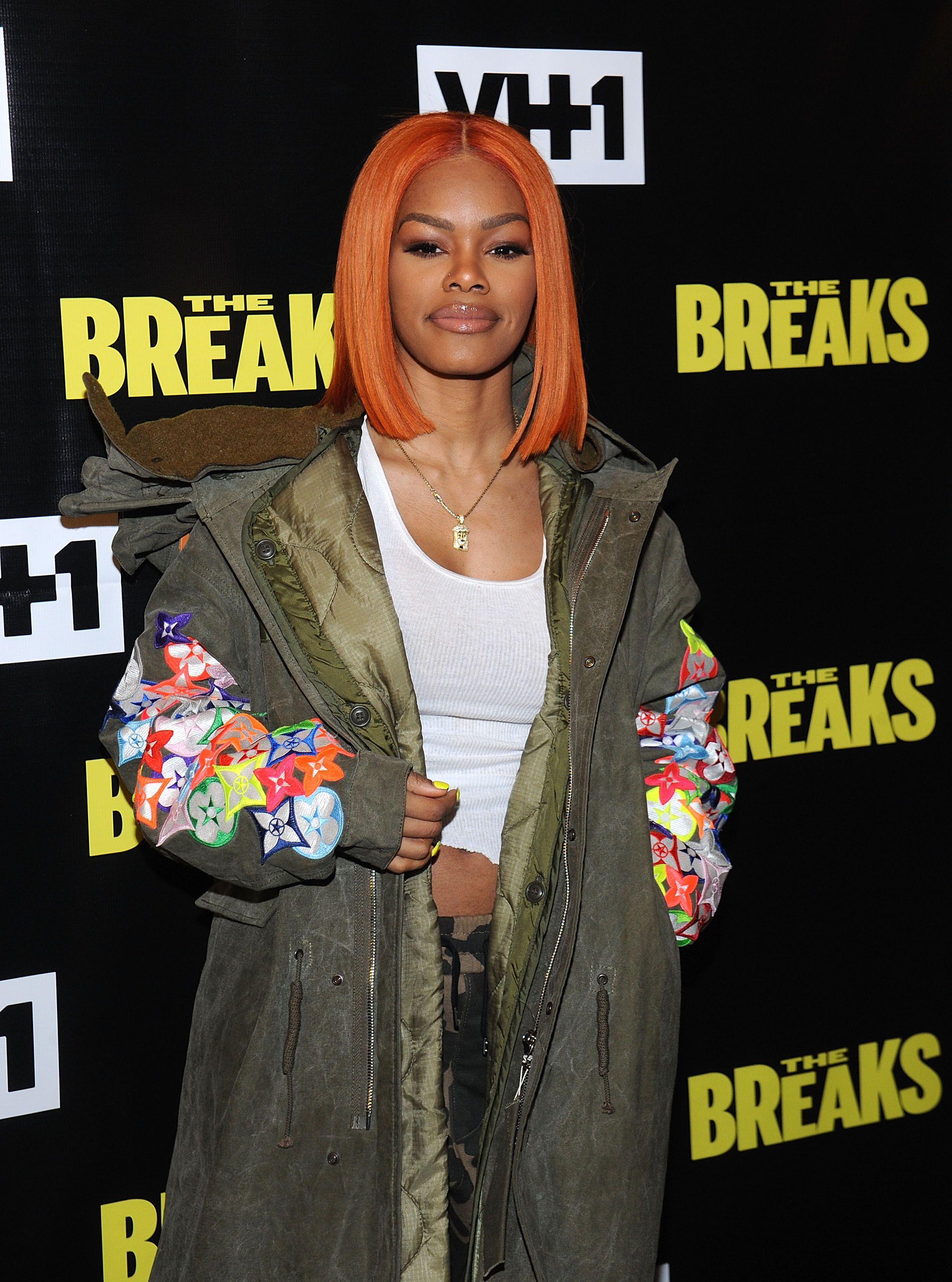 """Teyana Taylor attends """"The Breaks"""" Series Premiere at Roxy Hotel on February 15, 2017 in New York City 