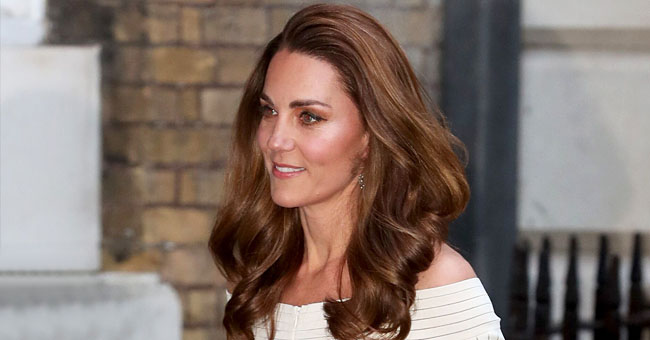 Kate Middleton Rewears a White Off-The-Shoulder Dress at a Special Gala for Addiction Awareness