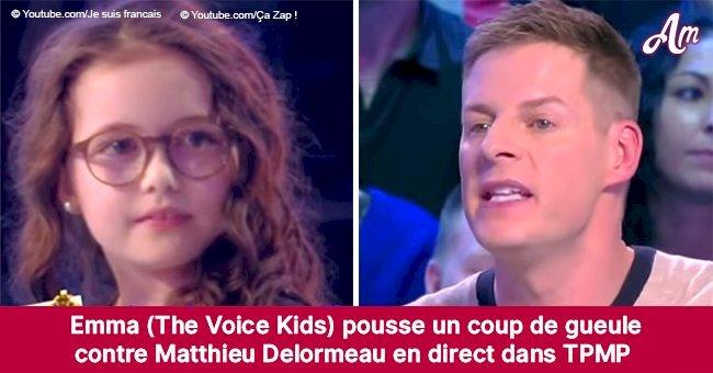 Emma, la gagnante de The Voice Kids, gronde Matthieu Delormeau