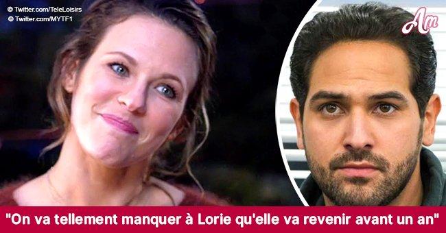 """Samy Gharbi """"a versé une larme"""" après une annonce bouleversante de Lorie Pester"""