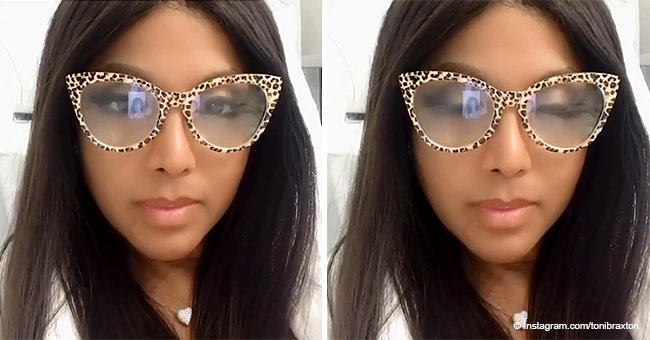 Toni Braxton stuns in leopard-print frames in 1st post since reunion rumors with Birdman