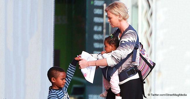 Charlize Theron on Raising 'Proud, Black African Girls'