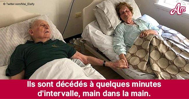 Un couple de personnes âgées est décédé main dans la main après 70 ans de mariage: leur fille témoigne