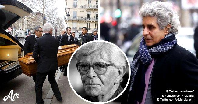 Les funérailles d'Henry Chapier : famille et célébrités réunies pour l'hommage à la légende (photos)