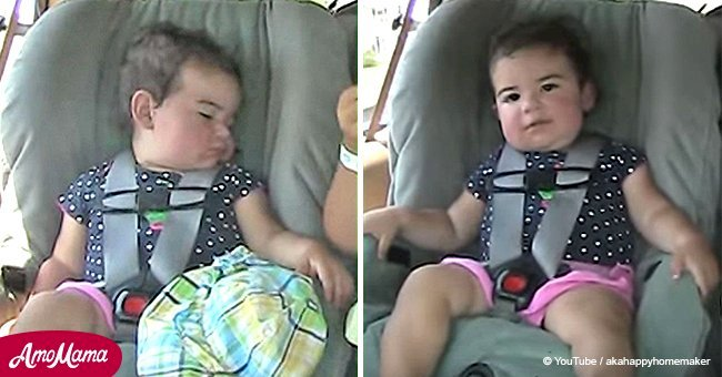 Baby awakened by favorite George Jones song steals the show with epic dance moves
