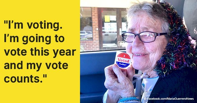 Great-grandmother, 82, votes for the first time in her life, passes away days later