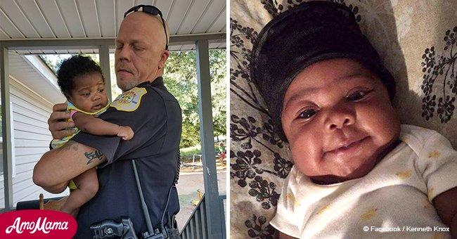 Polizist rettete ein Kleinkind und ist dessen Patenonkel geworden