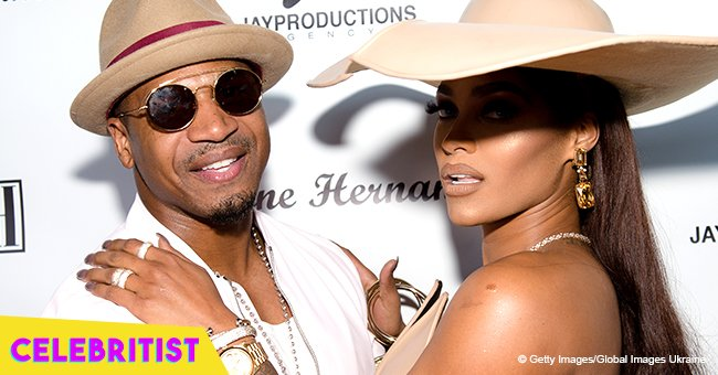 Joseline Hernandez & Stevie J's daughter steals hearts in puffy white dress & pink hat in photo