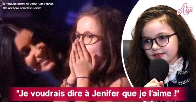 """Emma (The Voice Kids), affectueusement au sujet de son coach: """"J'aimerais dire à Jenifer que je l'aime"""""""