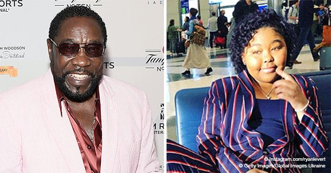 Eddie Levert's youngest daughter is now 16 & looks grown up in striped suit in new photos