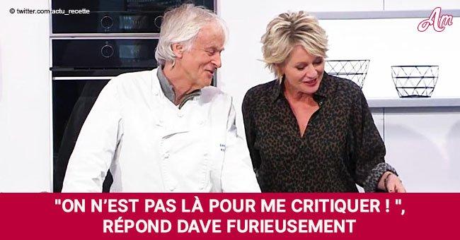 """""""C'est un peu cramé"""": Sophie Davant se moque de Dave et crée un véritable moment de tension sur le plateau"""