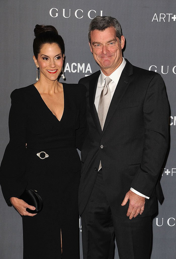 Jami Gertz and Antony Ressler at LACMA Art + Gala at LACMA on October 27, 2012 in Los Angeles, California | Photo: Getty Images