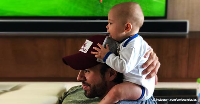 Enrique Iglesias Sohn zeigt, dass er die Tanzfähigkeiten seines Vaters geerbt hat
