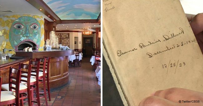 Manager Searching for Owner of Mysterious 96-Year-Old Bible Left in a Restaurant