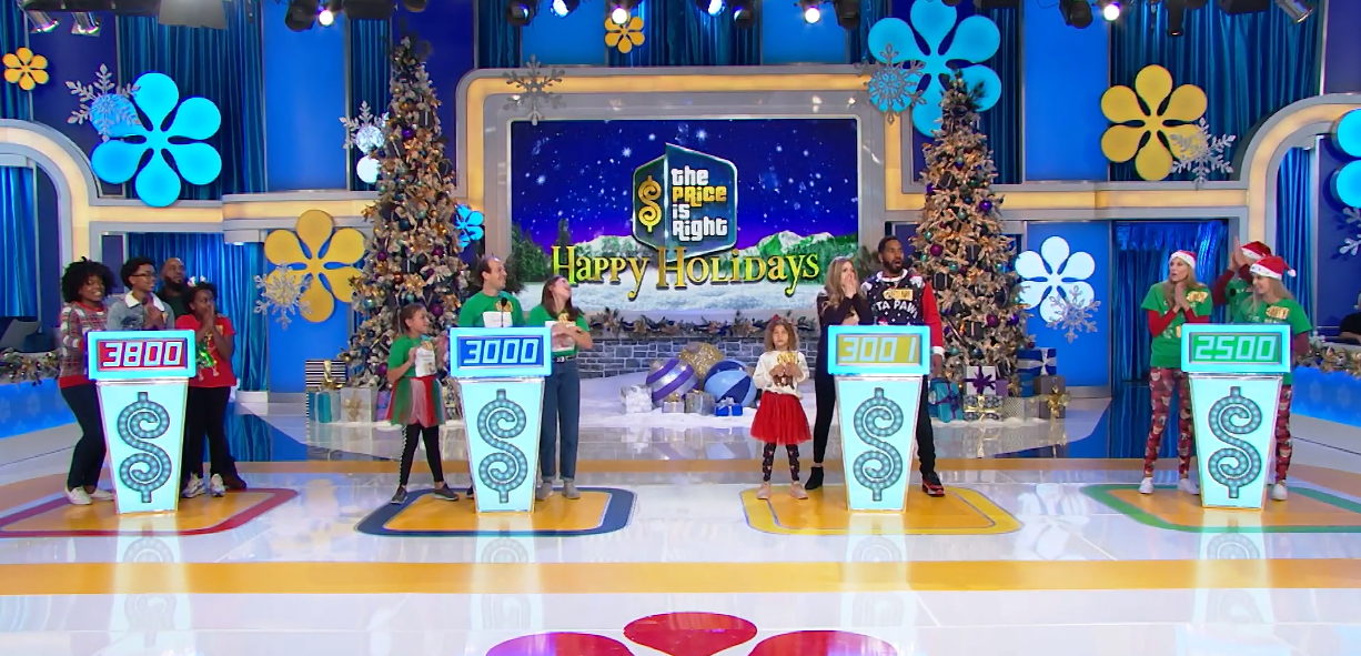 """The contestants in the popular game show """"The Price is Right."""" 