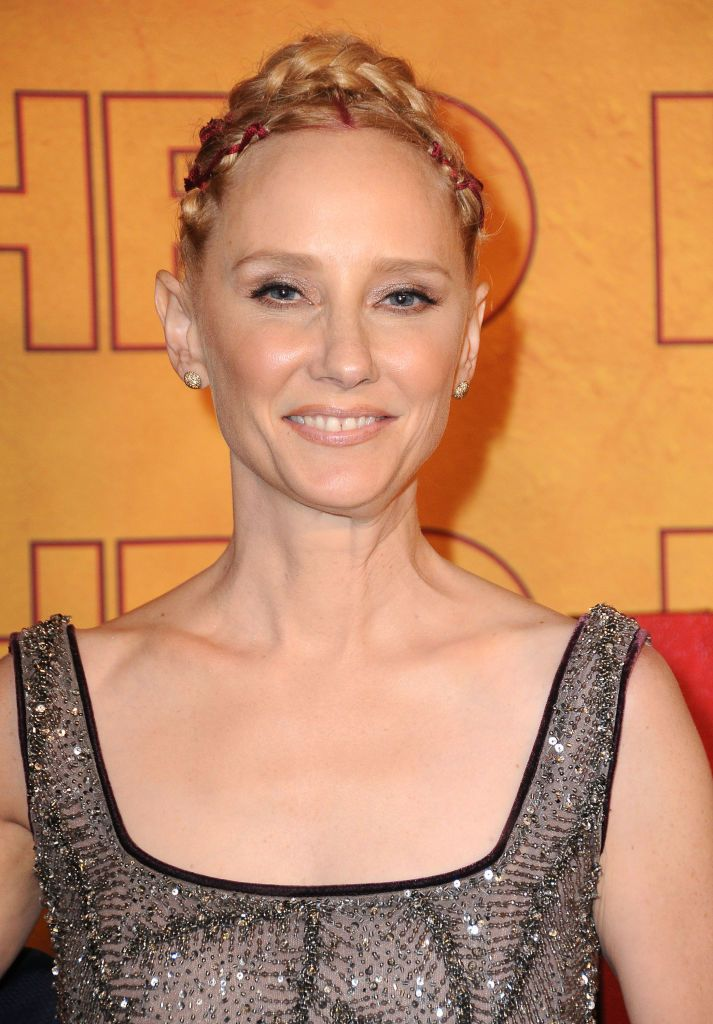 Anne Heche at HBO's Post Emmy Awards Reception in 2017 in Los Angeles, California | Source: Getty Images