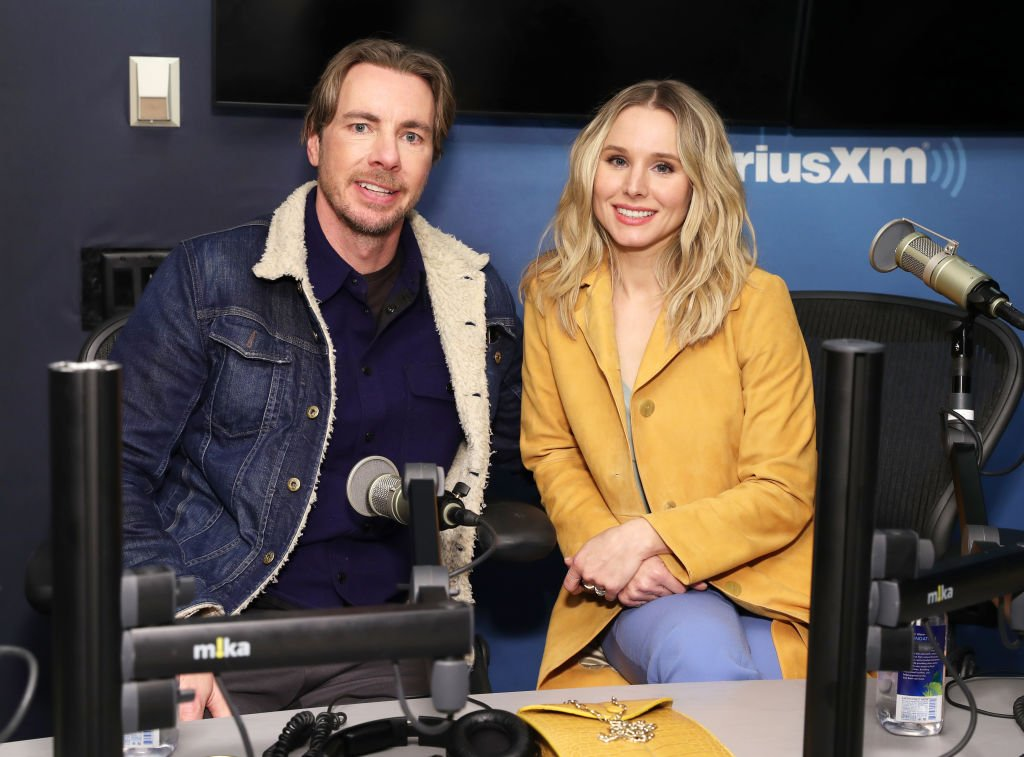 Dax Shepard and Kristen Bell visit the SiriusXM Studios on February 25, 2019 in New York City   Photo: Getty Images