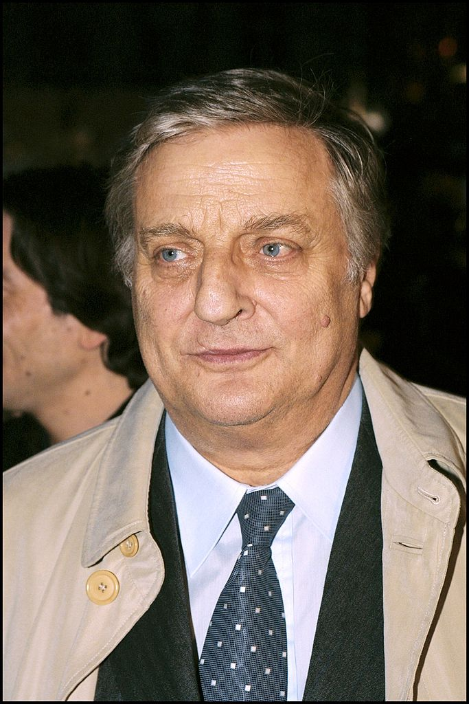 "Projection en avant-première de ""Mon père"" de José Giovanni à Paris, France Le 30 mars 2001, l'acteur français Bruno Cremer.  