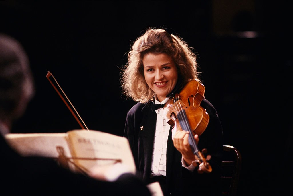 Anne-Sophie Mutter | Quelle: Getty Images