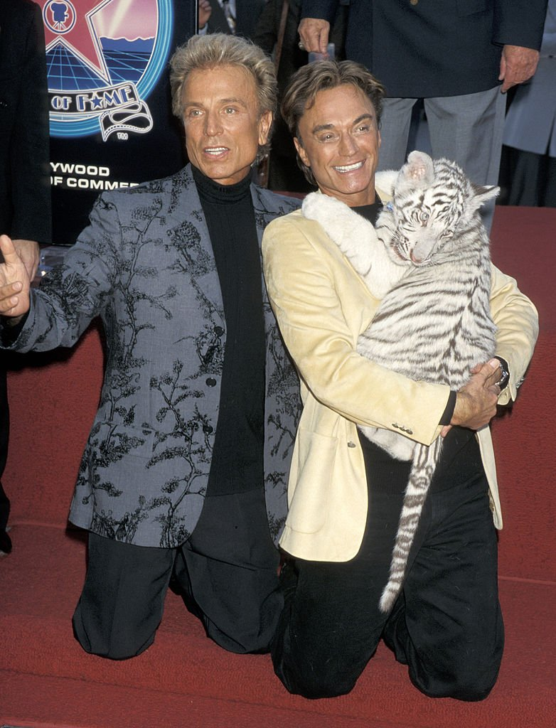 Siegfried und Roy bekommen Stern auf dem Hollywood Walk of Fame | Quelle: Getty Images