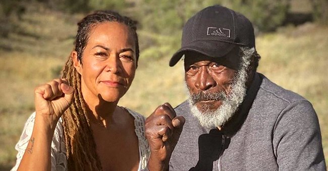 John Amos of 'Good Times' Shares Photo with Son KC and Daughter Shannon on Father's Day